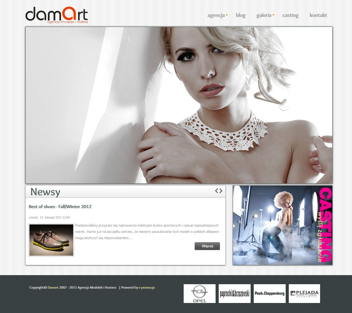 Models agency Damart
